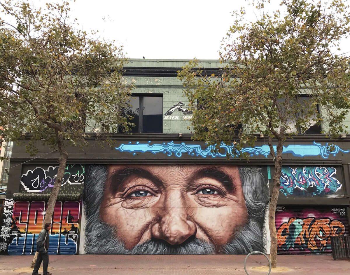 Click through the gallery to explore 25 must-see murals and public art masterpieces in San Francisco and Oakland.