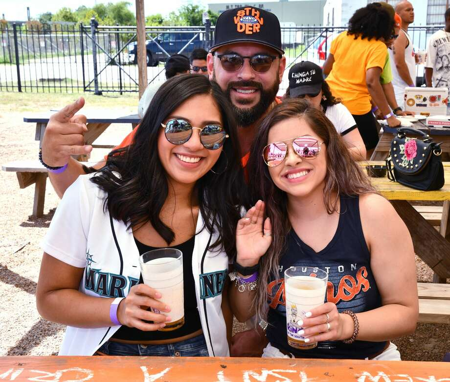 Fans gather at the 5th Annual Screwed Up Sunday party to commemorate the late, great DJ Screw at  the 8th Wonder Brewery Sunday Sept. 08,2019.(Dave Rossman Photo) Photo: Dave Rossman/Contributor