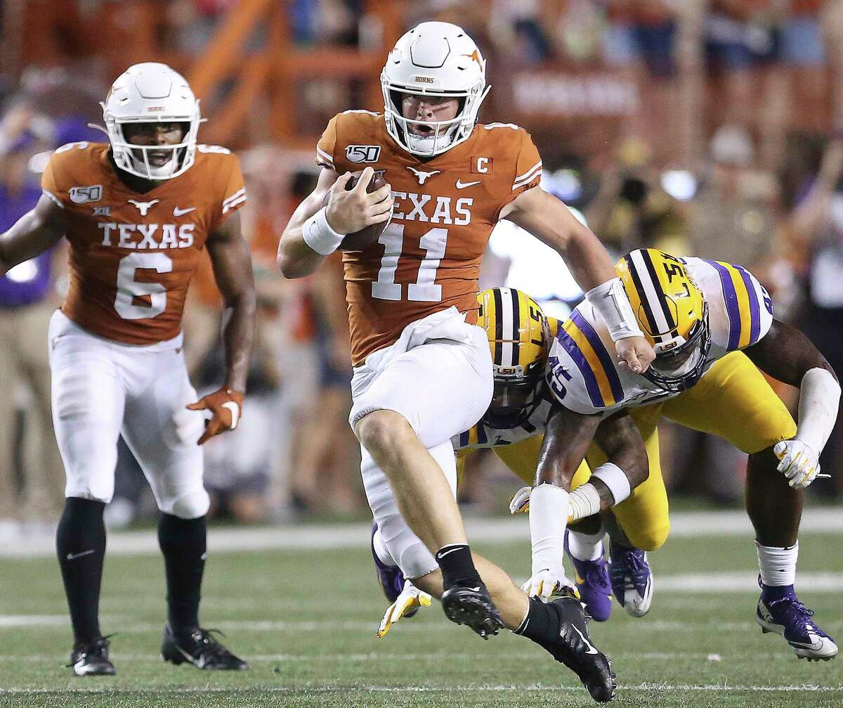 Sam Ehlinger says the Longhorns showed they were good enough, but need to start faster in the future.