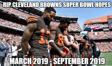 Memes Celebrate Cowboys Win Mock Browns Struggles Houstonchronicle Com
