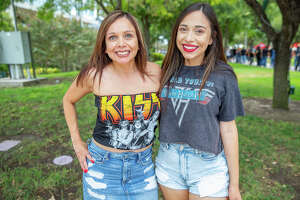 San Antonio rocked out to KISS on Sunday at the AT&T Center.