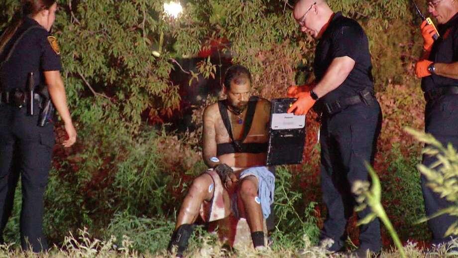 A man was shot near a homeless camp in the 5500 block of Little Creek Drive, San Antonio police say. Photo: Ken Branca