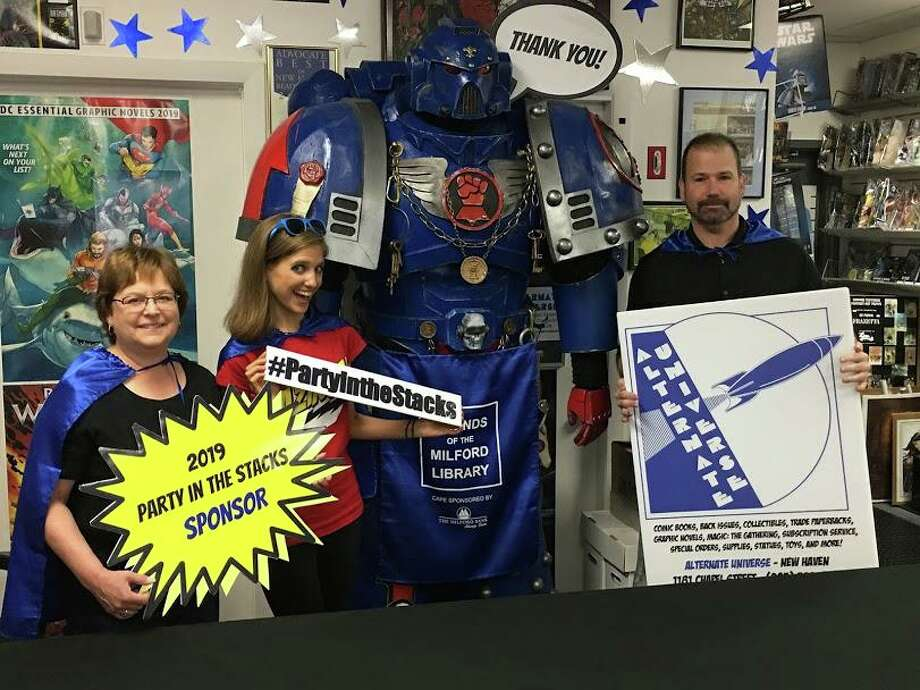 Milford's comic book store, Alternate Universe will sponsor The Friends of the Milford Public Library's fall fundraiser Party in the Stacks: Goes Pop Culture on Saturday, Oct. 19. Photo: Contributed Photo.