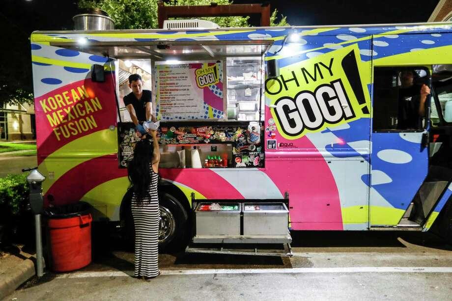 Oh My Gogi! calls itself Houston's first Korean fusion food truck. Photo: Karen Warren, Staff Photographer / Houston Chronicle / @Houston Chronicle 2019