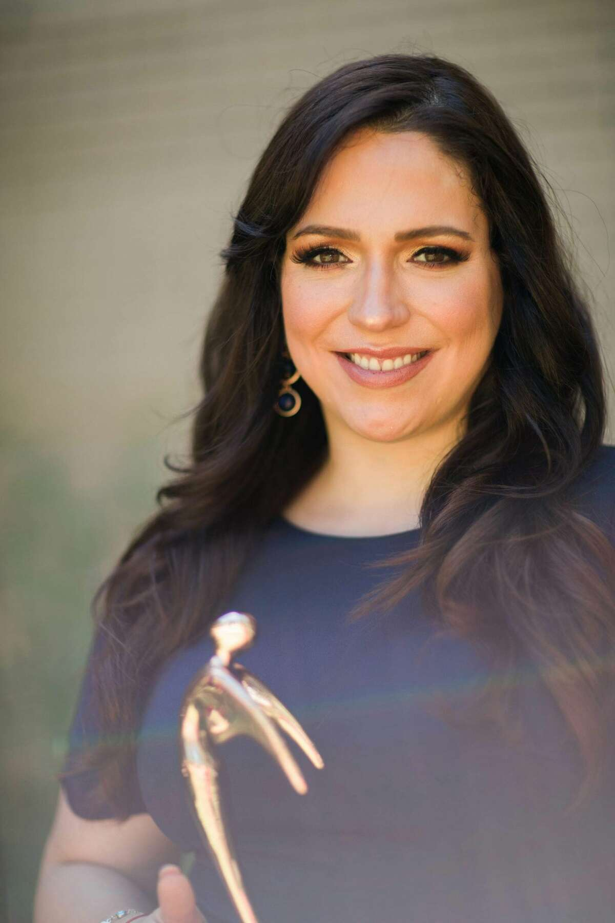"""Univision anchor Myrna Salas received a Telly Award for her special, """"Pearl Harbor, La Guerra Que Cambió mi Vida,"""" or the war that changed my life."""