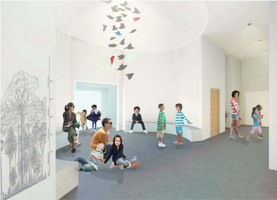 An artist rendering of the Bruce Museum's new Education Wing. Photo: Bruce Museum / Contributed Photo