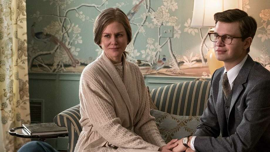 Nicole Kidman and Ansel Elgort in The Goldfinch.
