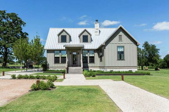 The Fertittas bought a small home on 160 acres in Brenham and later added this guest house to accommodate friends and family.
