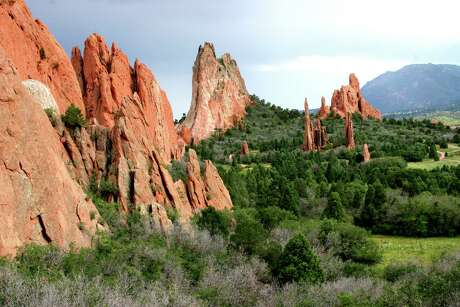 More than 1 million visitors tour the Garden of the Gods in Colorado Springs, Colo., each year.
