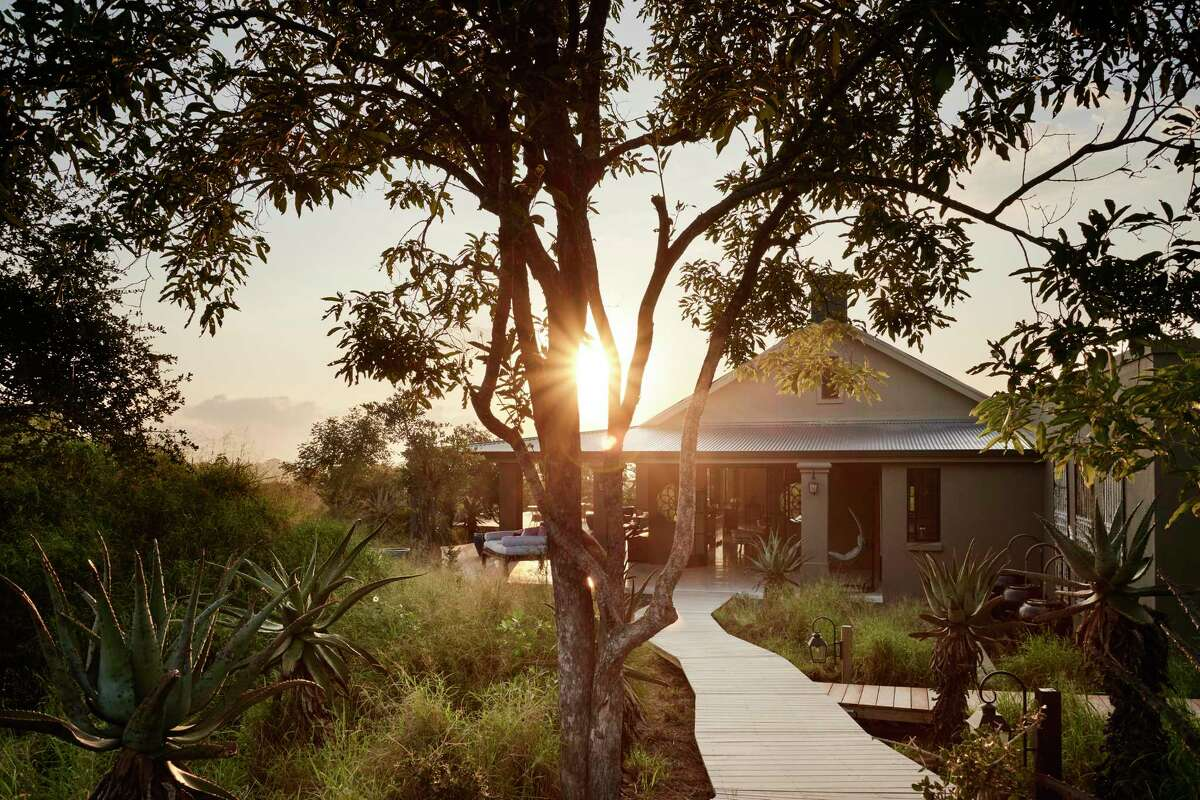 First light at the Farmstead at Royal Malewane in South Africa