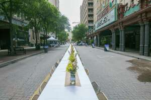 Houston Street Charities is teaming up with the San Antonio Food Bank for an outdoor picnic, Houston Street Food.