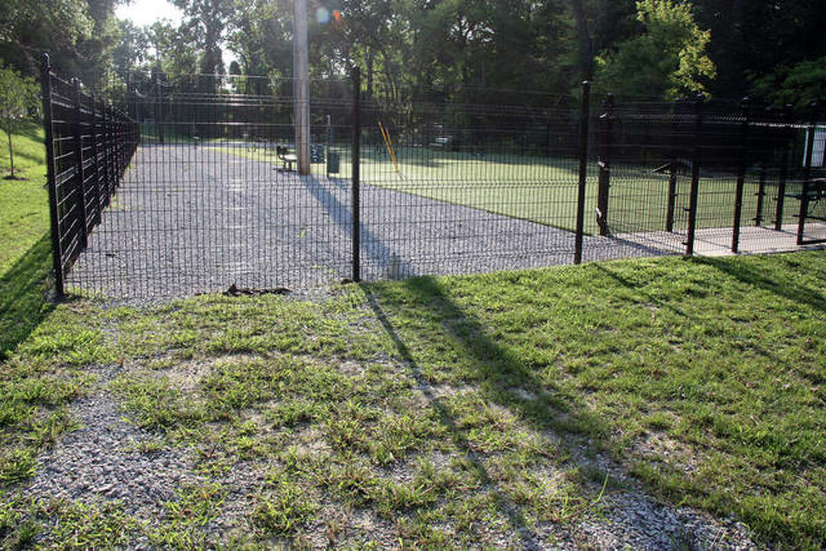The dog park at the southeast corner of Olive and West Schwarz streets is now known as Brent Leh Memorial Dog Park. Dr. Leh was a highly regarded area veterinarian and an Edwardsville native.