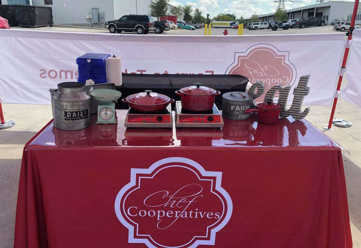 Chef Cooperatives, a San Antonio nonprofit group comprised of food and drink professionals, has launched a weekly cooking demo booth Sundays at the Pearl Farmers Market that will feature products sold by fellow vendors.