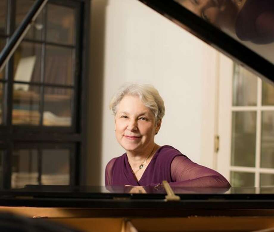 "Sharon Ruchman, an American classical music composer and musician, will talk about her first book, ""The Gift of Rudy,"" at the Norwalk Library on September 20. Photo: Emily Lee From Roxbury Photography / Contributed Photo"