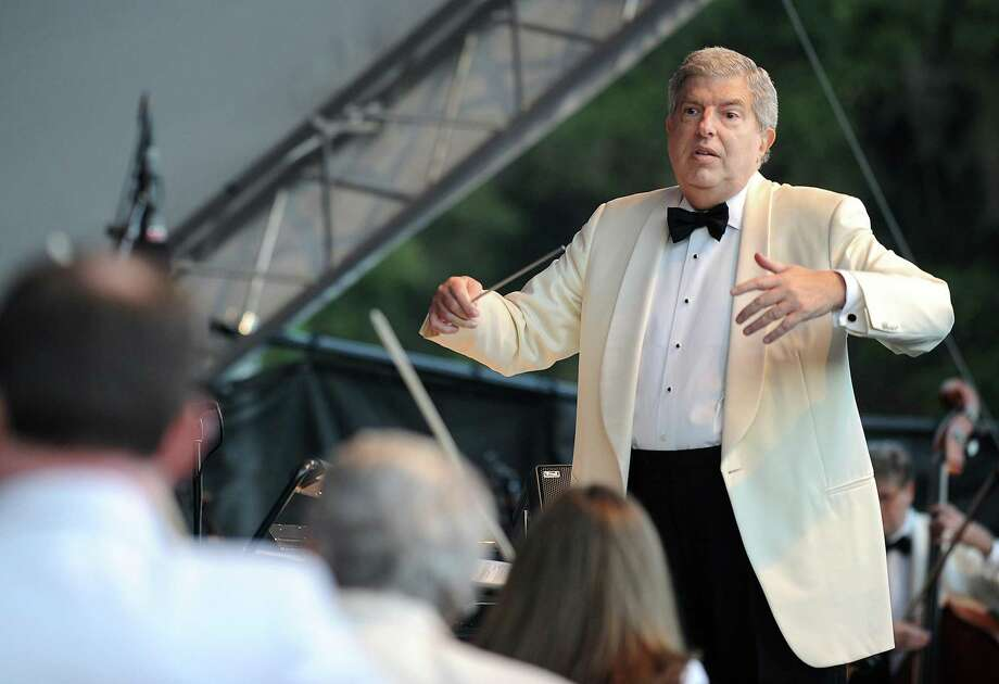 "The Stamford Symphony is hosting an official birthday event celebrating the famed composer Marvin Hamlisch, pictured in 2011, on Sept. 28, featuring the Kevin Cole Trio, as well as special guest appearances by Broadway stars Marissa McGowan (""Kiss Me Kate"") and Michael Mendez, plus the Stamford Symphony's principal cellist, Caroline Stinson. Photo: Wally Skalij / Los Angeles Times / MCT / Los Angeles Times"