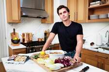 Chef, author and TV personality Antoni Porowski in the kitchen of his home in Manhattan.