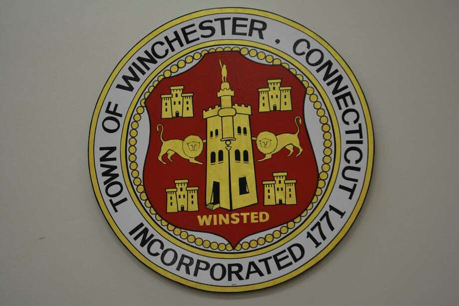 The town seal of Winchester Photo: By Leslie Hutchison / Hearst Connecticut Media
