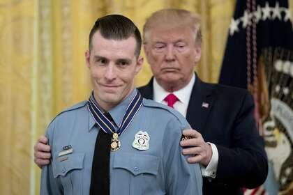 Trump skips Gilroy first responders in honoring mass-shooting heroes
