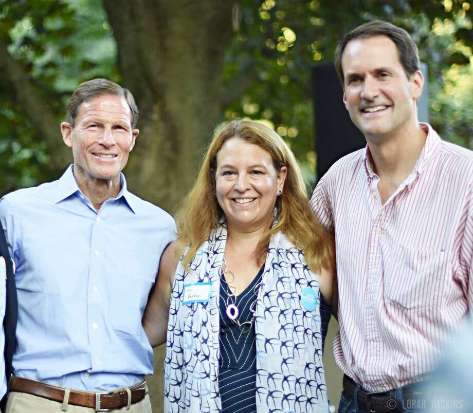 U.S. Sen Richard Blumenthal, state Rep. Lucy Dathan and U.S. Rep. Jim Himes are scheduled to join Democrats running for office in November's municipal election at the New Canaan Democratic Town Committee BBQ Sunday, Sept. 15, from 3 to 6 p.m. at the Carriage Barn in Waveny Park. Photo: Contributed Photo / New Canaan Democrats / New Canaan Advertiser Contributed