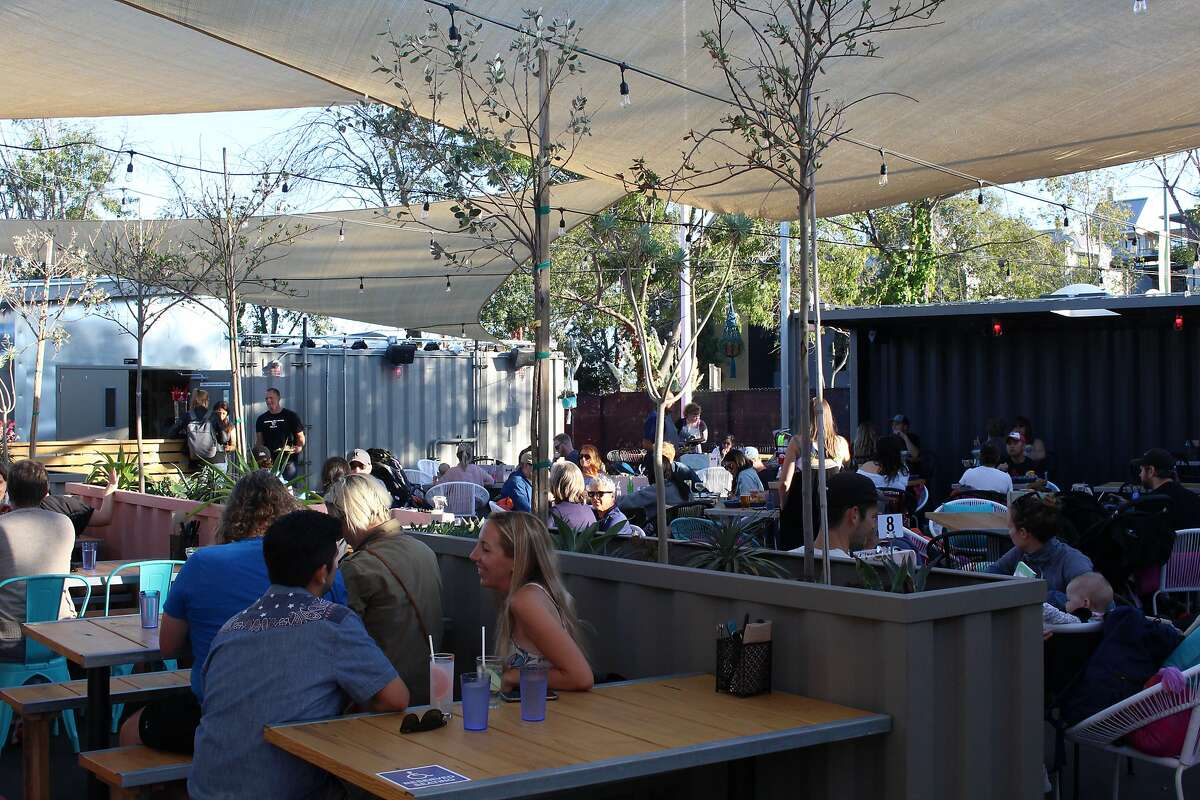Nido's Backyard takes over a former parking lot a few blocks from Nido near Jack London Square in Oakland.