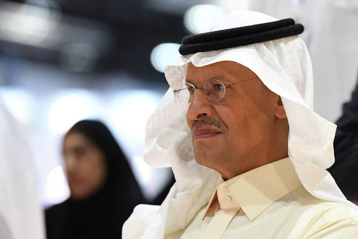 Saudi Arabia's Energy Minister Prince Abdulaziz bin Salman attends the opening ceremony of the 24th World Energy Congress (WEC) in the UAE capital Abu Dhabi on September 9, 2019. (Photo by KARIM SAHIB / AFP)KARIM SAHIB/AFP/Getty Images