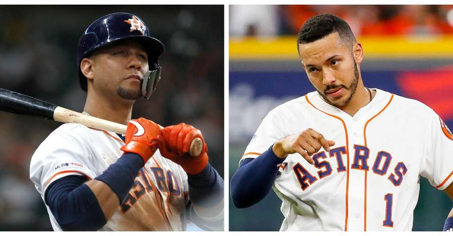 PHOTOS: Astros game-by-game Split photo of Astros' Yuli Gurriel and Carlos Correa. Browse through the photos to see how the Astros have fared in each game this season. Photo: Karen Warren/Houston Chronicle