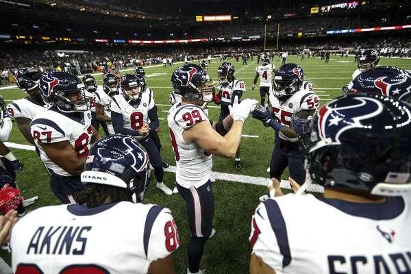Texans Dylan Cole J J Watt Deshaun Watson Johnathan