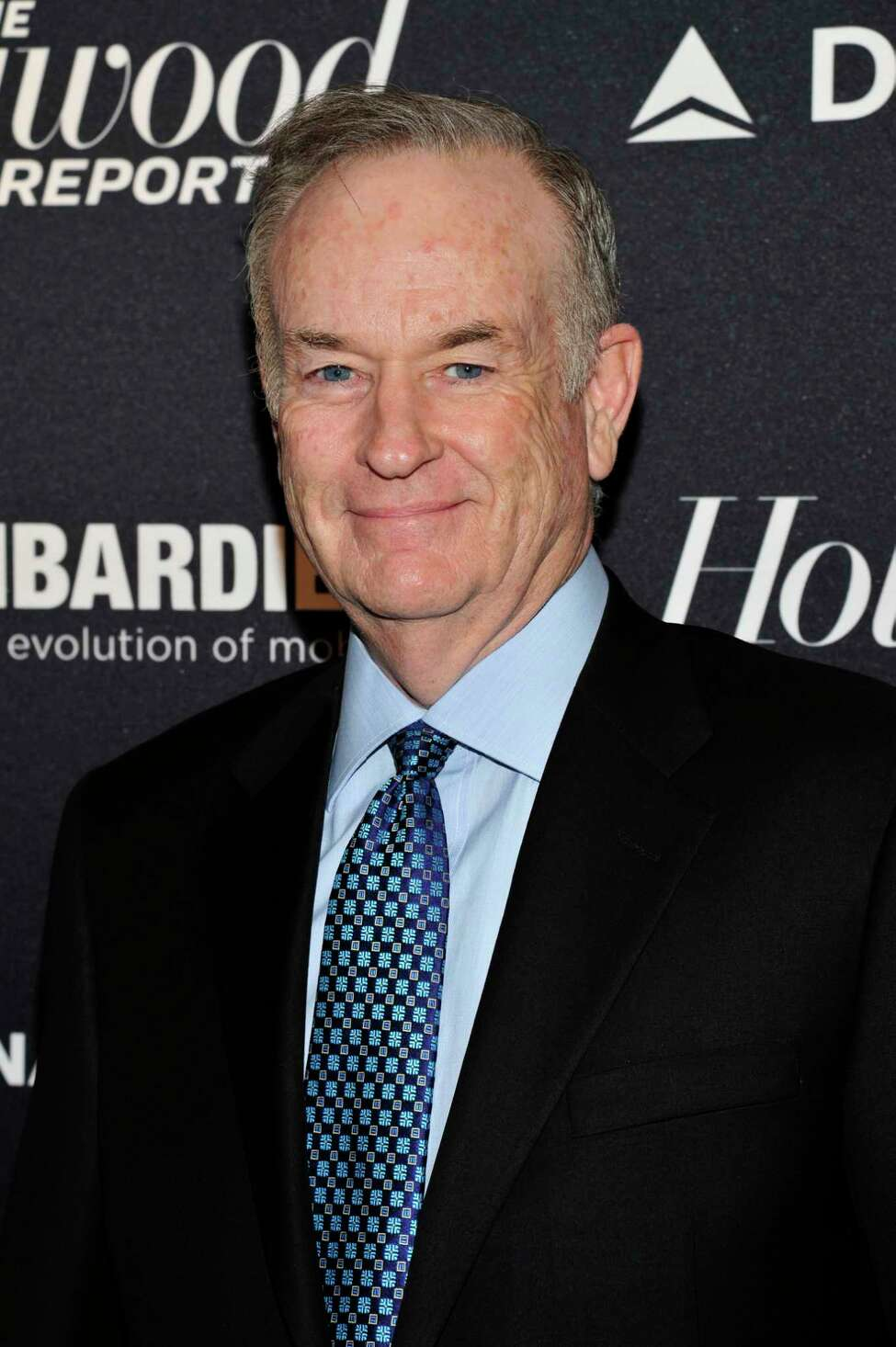 Bill O'Reilly seen on the red carpet for The Hollywood Reporter Celebrates the 35 Most Powerful People in Media, on April 10th, 2013, in New York. (Photo by Charles Sykes/Invision for The Hollywood Reporter/AP Images)