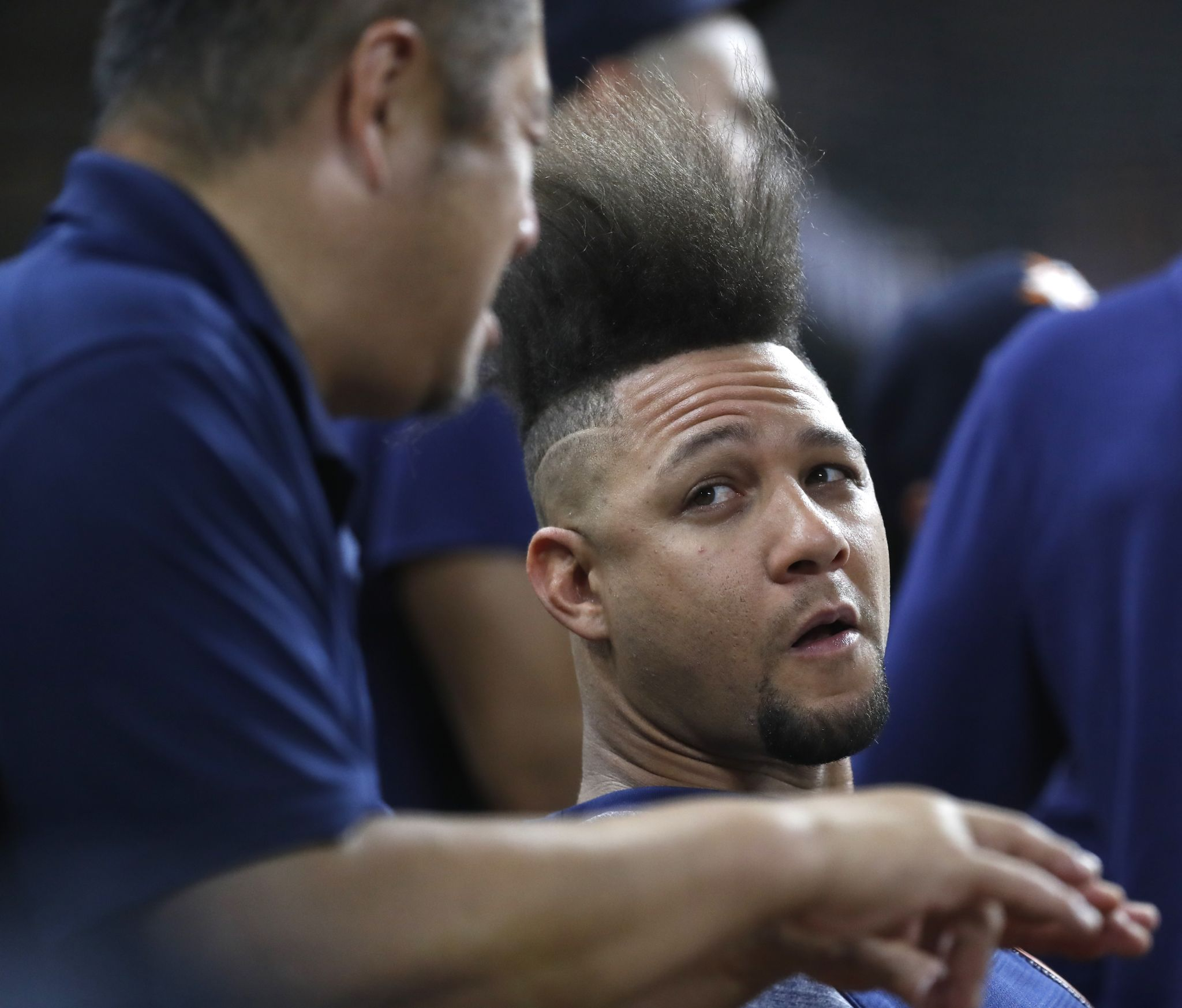 Astros targeting Friday for Yuli Gurriel's return to lineup