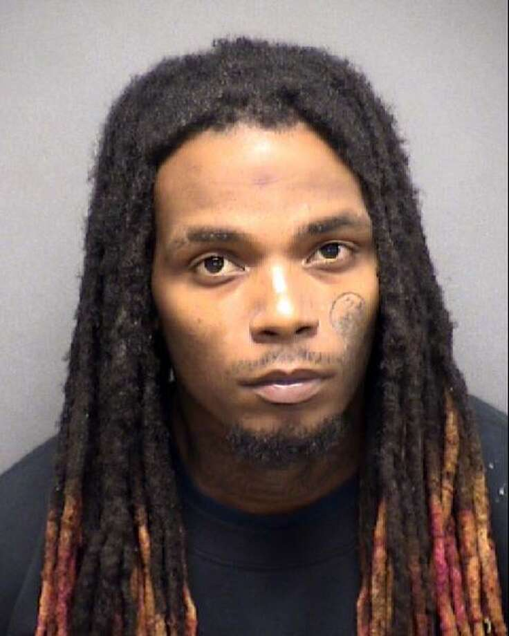 Charleston Grogan, 24, was arrested Monday, Sept. 9, 2019, and charged with assault of a pregnant person. Photo: Courtesy Bexar County Sheriff's Office