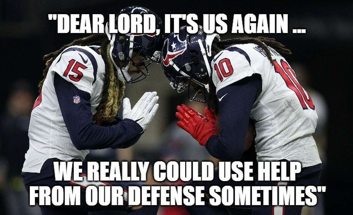 PHOTOS: The best memes from the Texans' tough loss and other Week 1 NFL games Source: Matt Young