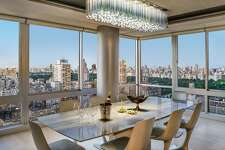 This New York City apartment, which uses a Savant home automation system installed by Stamford-based Rich AV Design to bring together TVs, music (via invisible speakers), HVAC control, and motorized shades by both Lutron and Savant, as well as a custom Ketra/Lutron human centric lighting system, won the 2018 Silver Award for Electronic House Home of the Year.