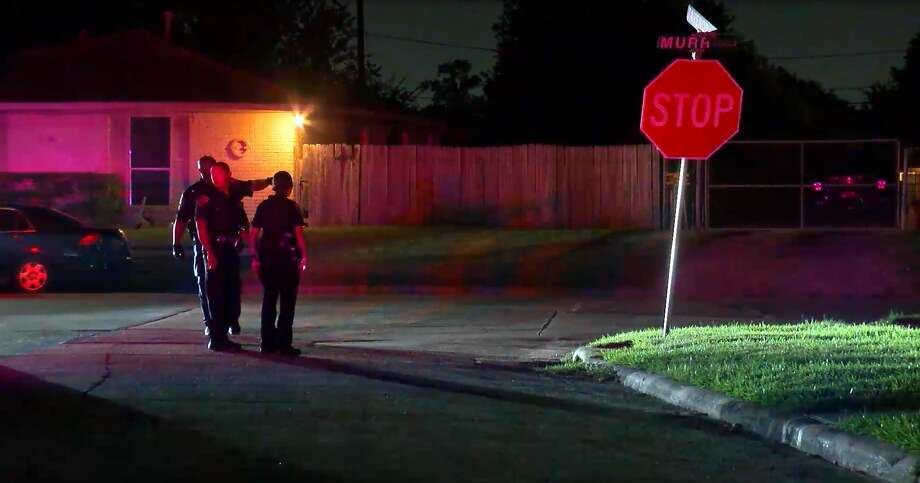 A shootout occurred in the 11000 block of Murr Way shortly before 9 p.m. Monday as the two victims were leaving a family member's residence, police said. Photo: Onscene.TV