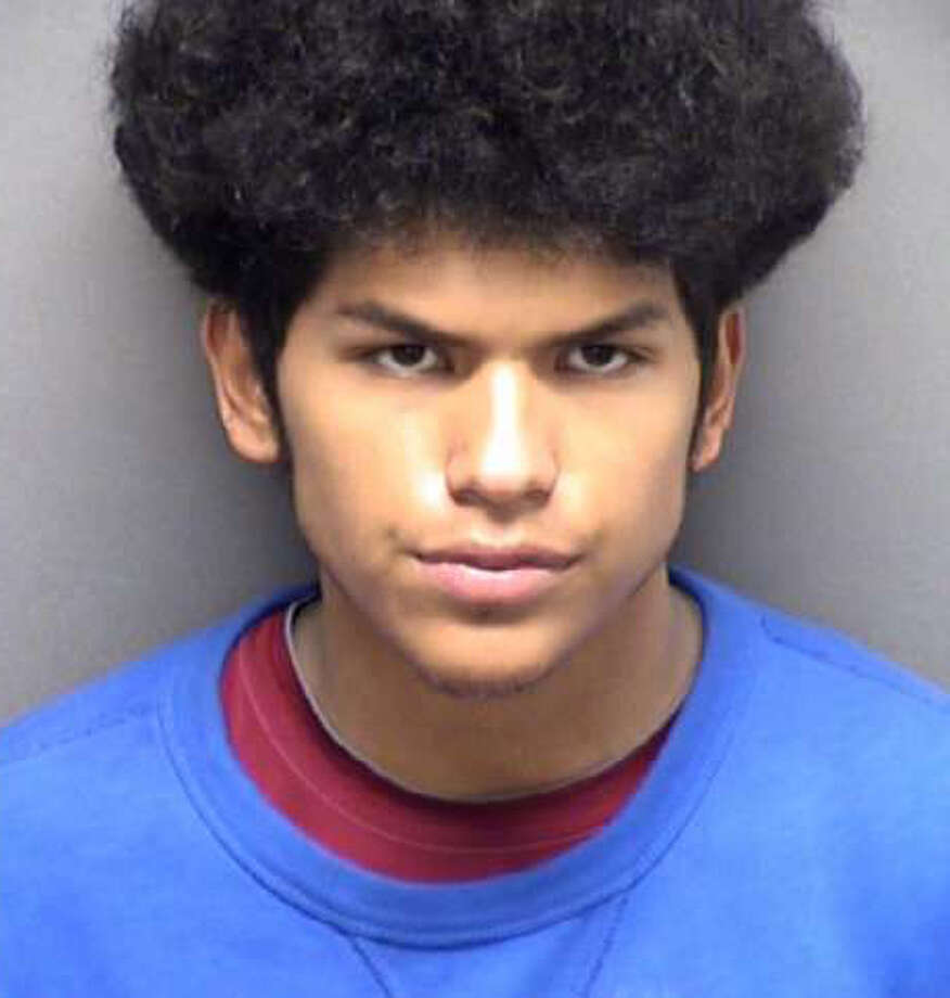 Devin Seth Perez, 17, is accused of shooting an SAPD officer just after midnight Monday in the 700 block of Kendalia. Photo: Courtesy San Antonio Police Department