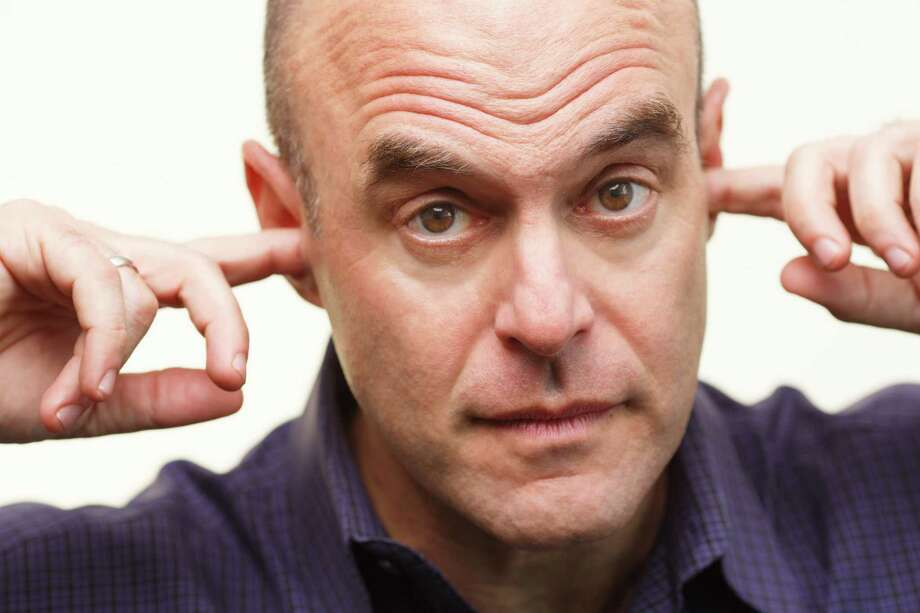 """Wait, Wait ... Don't Tell Me!"" host Peter Sagal. Photo: Andrew Collings / Andrew Collings/NPR"