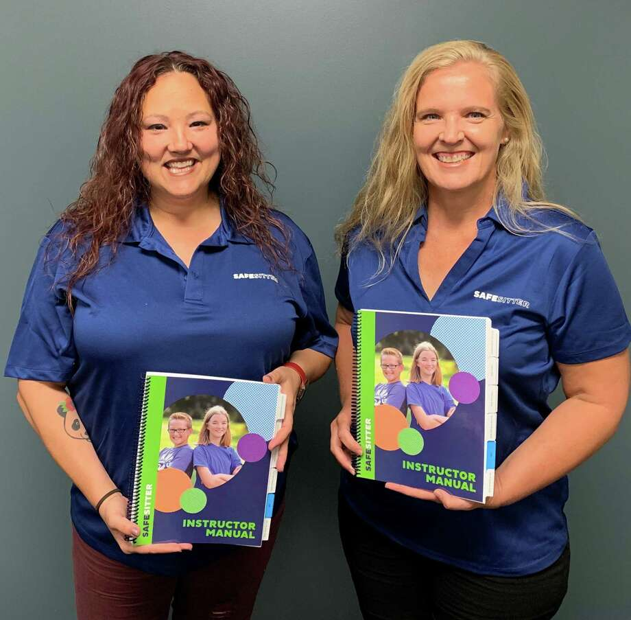 Angela Forman and Barbara Joos-Vandewalle belong to theCommunity Risk Reduction Team of theHarris County ESD No. 48 Fire Departmentand received training to offer Safe Sitter classes. The classes begin this month.Emailbabysitting@hcesd48.orgfor more information and to register. Photo: Harris County ESD No. 48 Fire Department
