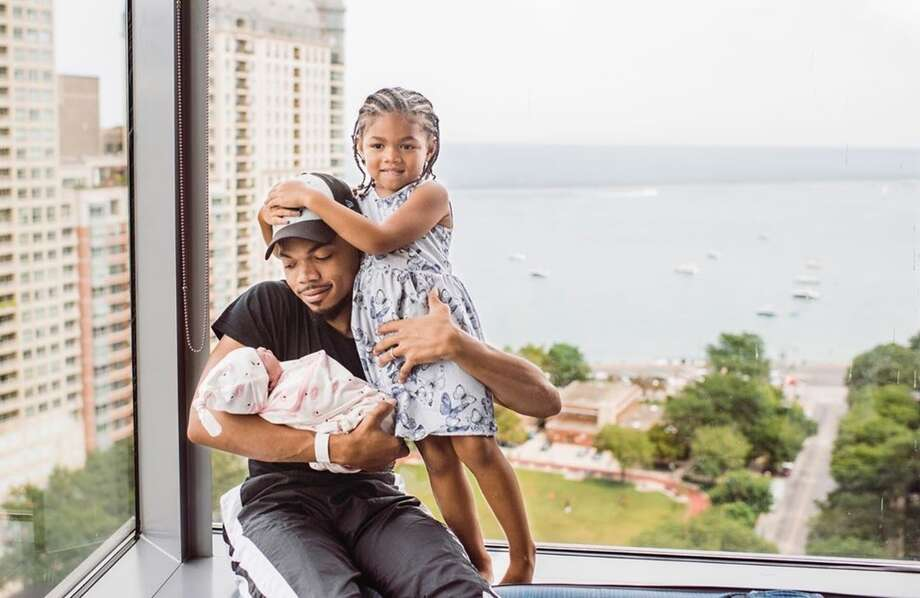 New dad Chance the Rapper Photo: Chance The Rapper
