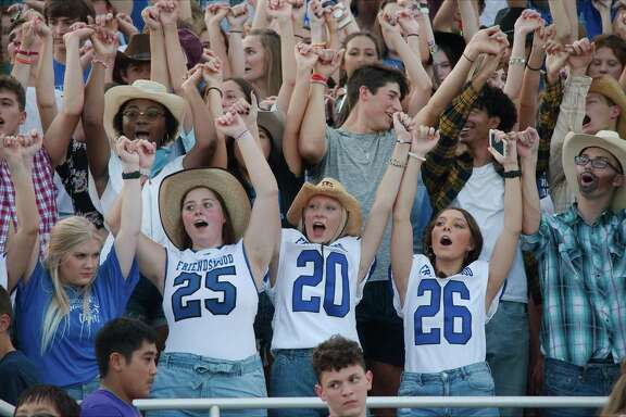 Friendswood fans will be cheering on their team at La Porte this Friday when the Mustangs seek a third straight victory.