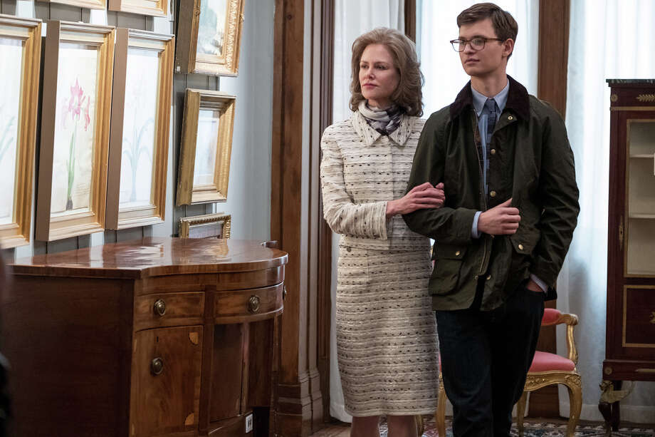 """Nicole Kidman, left, and Ansel Elgort in """"The Goldfinch."""" Photo: Macall Polay/Warner Bros. Pictures / © 2018 Warner Bros. Entertainment Inc."""