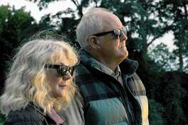 "John Lithgow and Blythe Danner star in ""The Tomorrow Man."""