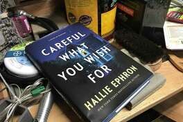 """""""Careful What You Wish For"""" by Hallie Ephron is a thriller about a professional organizer."""