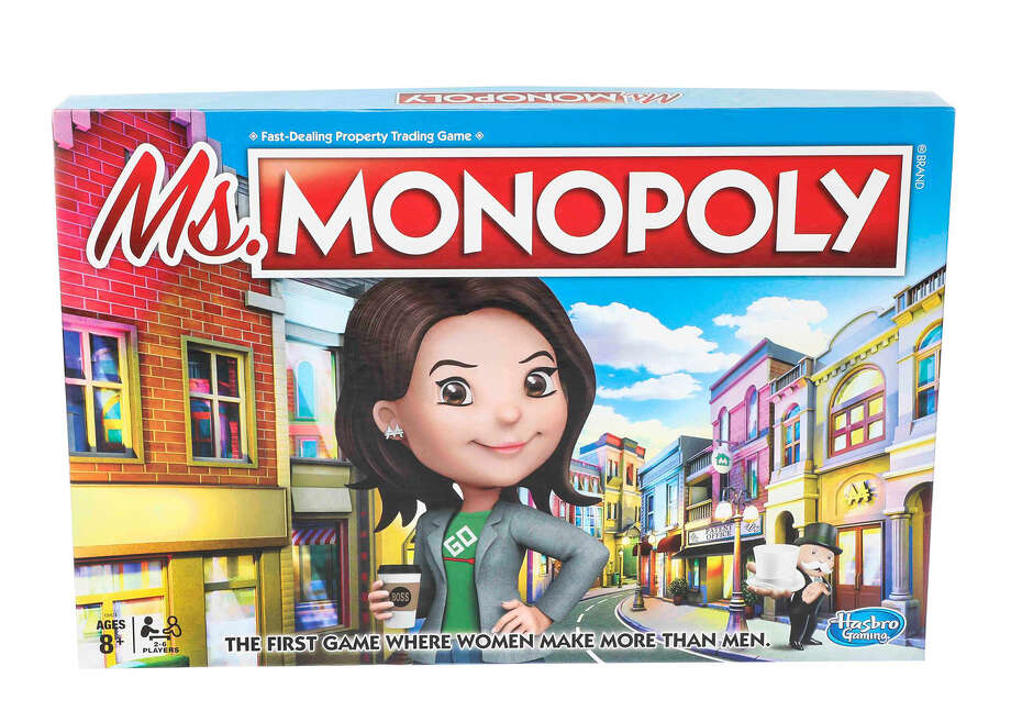 """""""Ms. Monopoly"""" incorporates the gender pay gap into the classic boardgame. Photo: Hasbro / Handout"""