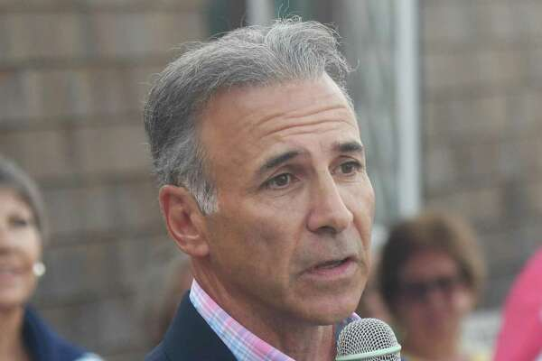 Republican candidate for First Selectman Fred Camillo said he does not want a deal where the town loses its air rights for Greenwich Plaza.