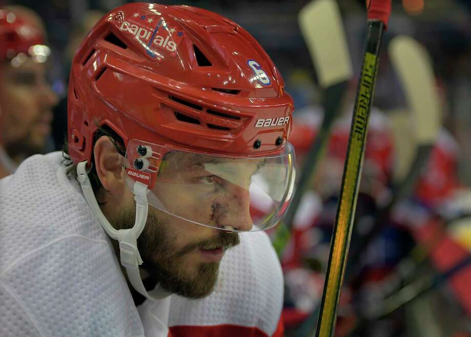 Capitals defenseman Michal Kempny will not skate with the team to start training camp. Photo: Washington Post Photo By John McDonnell / The Washington Post