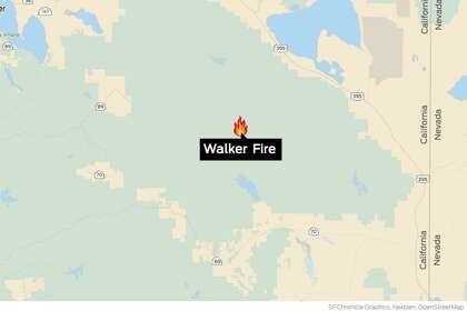 1,284 firefighters battling Walker Fire, California\'s ...