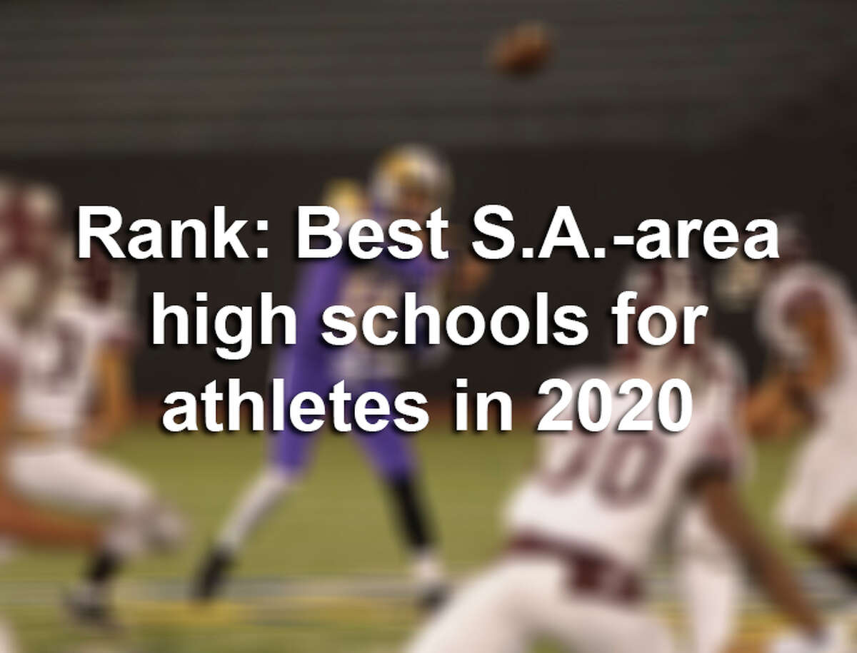 Click through the gallery to view the best San Antonio-area high schools for athletes in 2020, according to Niche.