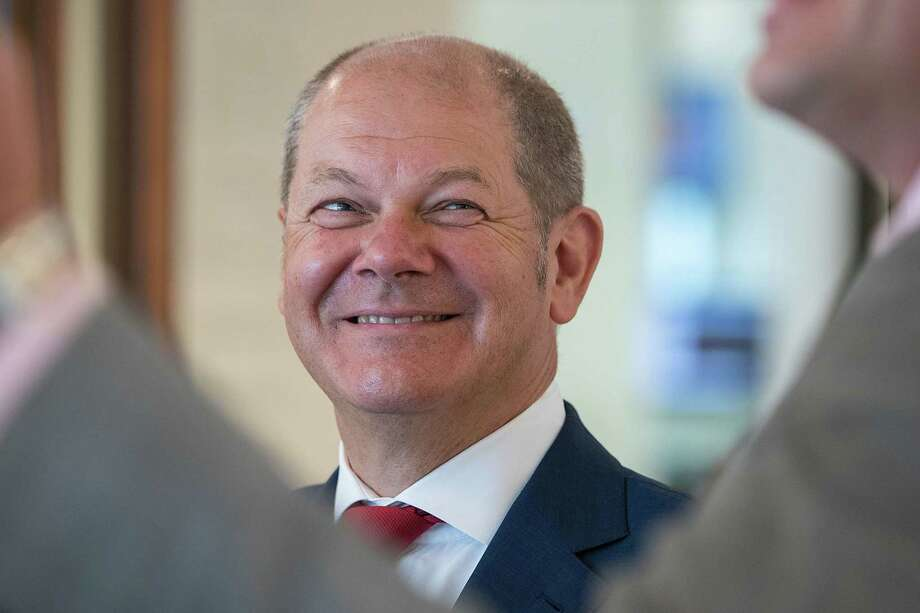 Olaf Scholz, Germany's finance minister, in Berlin on July 25, 2019. Photo: Bloomberg Photo By Krisztian Bocsi. / © 2019 Bloomberg Finance LP