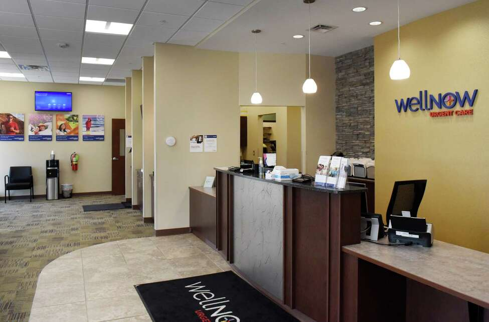 Lobby inside the new WellNow Urgent Care Niskayuna offices on Tuesday, Sept. 10, 2019, on Balltown Road in Niskayuna, N.Y. St. Peter's Health Partners and WellNow Urgent Care announced a new partnership to create a unified network of urgent care centers across the Capital Region. (Will Waldron/Times Union)