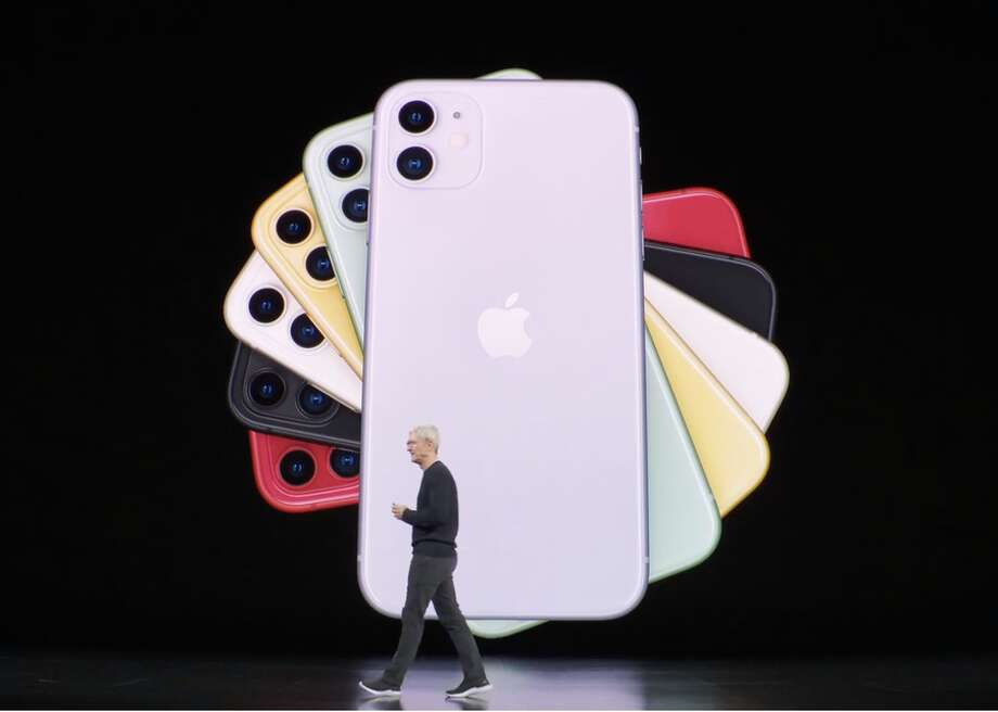 The iPhone 11 comes in six colors, some of them new. Photo: CBSI/CNET