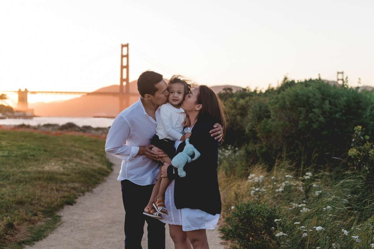 San Francisco is one of more than 300 cities across the globe where company Flytographer capture mementos for their clients.